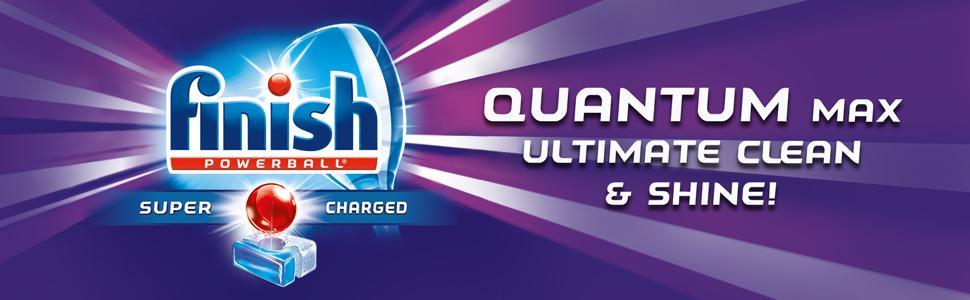 Amazon.com: Finish Quantum Max Powerball Ultra Degreaser