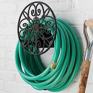 hose butler stand holder garden