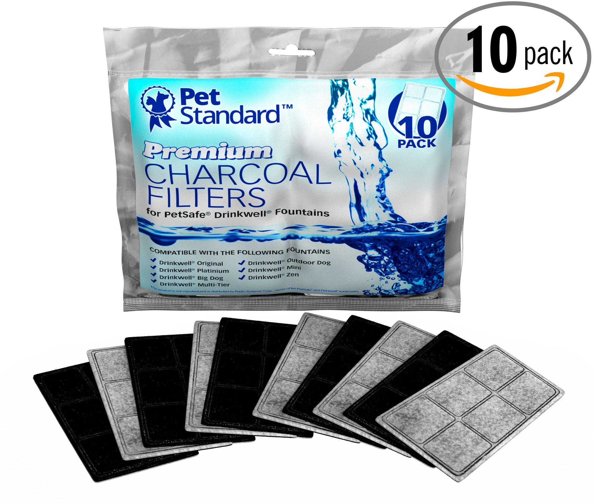 Petsafe Pet Dog Cat Bowl Pond Aquarium Water Filter Filtration System 10-pack Reputation First Cat Supplies Pet Supplies