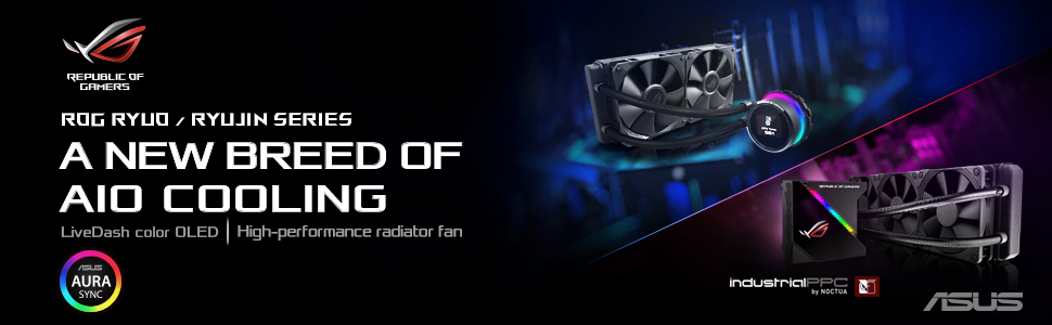 ROG Ryuo 120 CPU Cooler