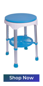 bath safety swivel stool