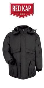 Red Kap Men S Heavyweight Parka At Amazon Men S Clothing Store