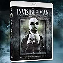 invisible man, universal monsters, classic monsters, horror, legacy, collection, box set, gift set