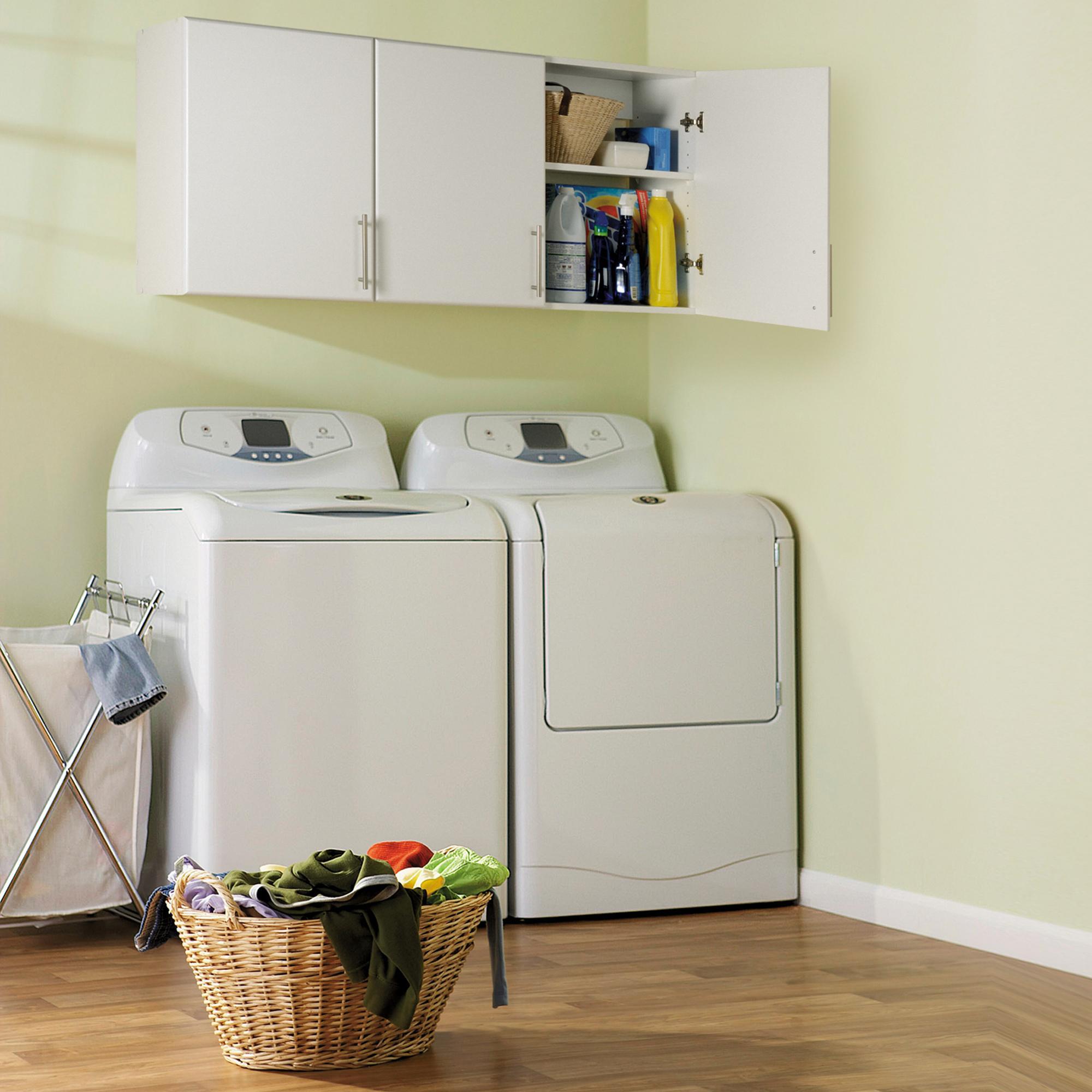 "Amazon.com: Prepac Elite 16"" Narrow Cabinet In White: Kitchen & Dining"