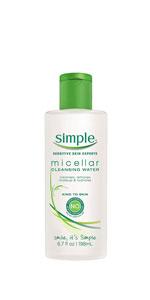 Amazon.com: Simple Facial Wipes, Micellar, 25 ct: Beauty