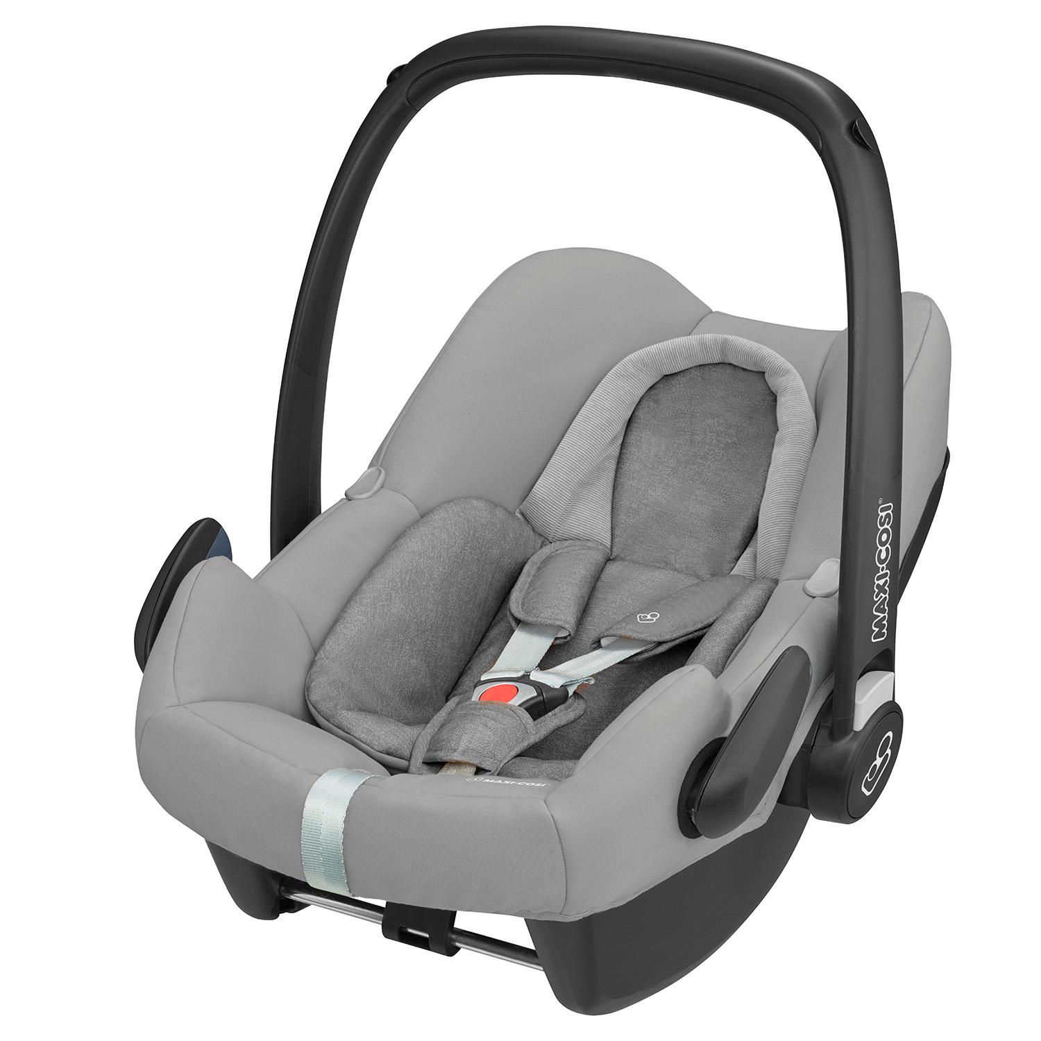 maxi cosi rock i size baby car seat nomad grey. Black Bedroom Furniture Sets. Home Design Ideas