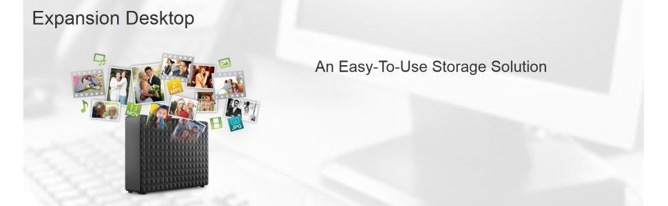 Seagate Expansion Desktop disco duro externo