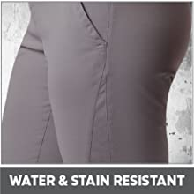 Water and stain resistant