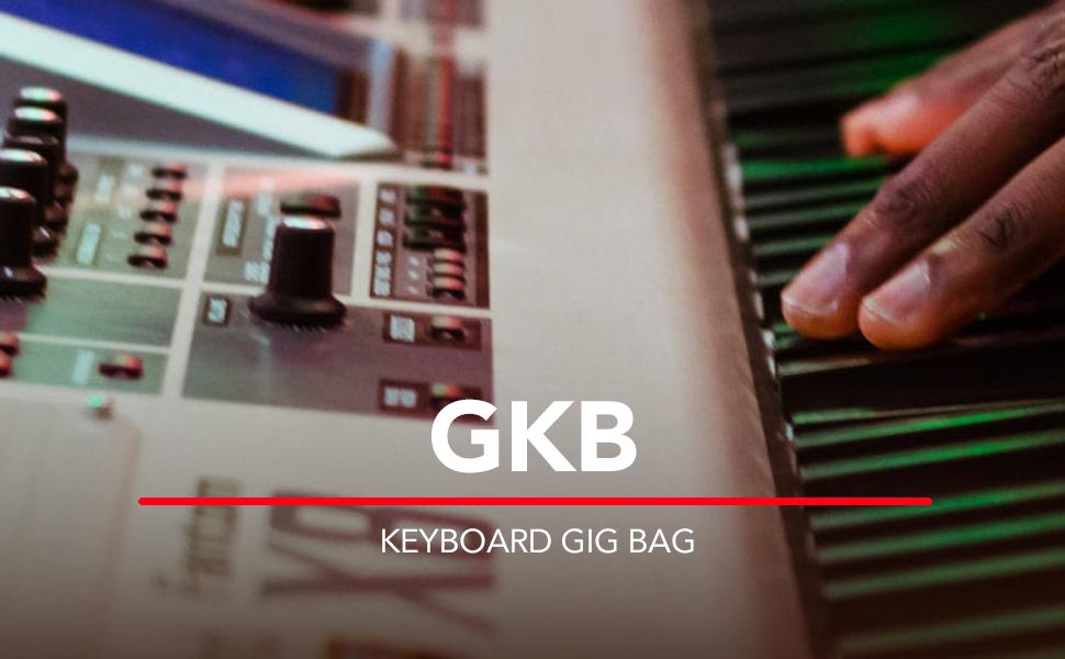 GATOR GKB-88 - Funda para piano y teclado, color negro, 88 llaves