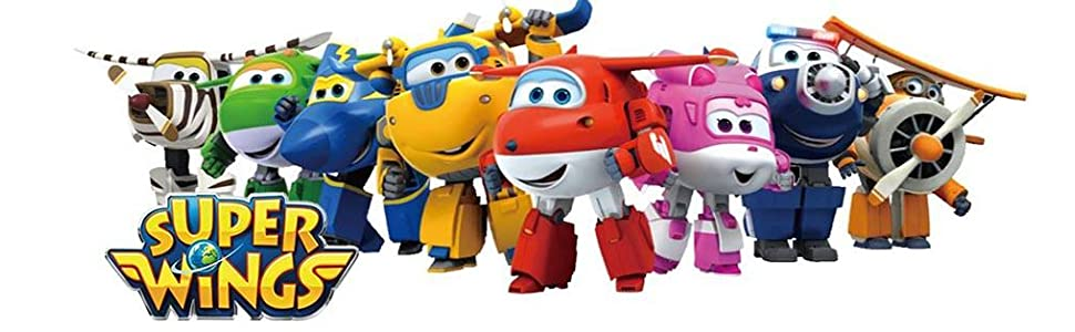 Amazon Com Super Wings Transforming Jett Toy Figure Plane Bot