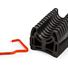 sewer hose cradle; sewer hose support; sewer extension; rv; rv accessories; rv sewer