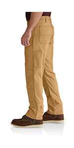 2639560f Amazon.com: Carhartt Men's Rugged Flex Rigby Double Front Pant: Clothing