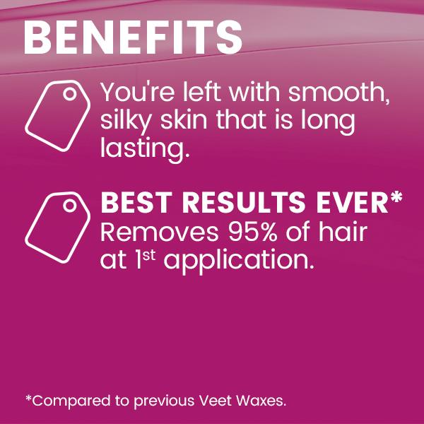 how to use veet cold wax strips