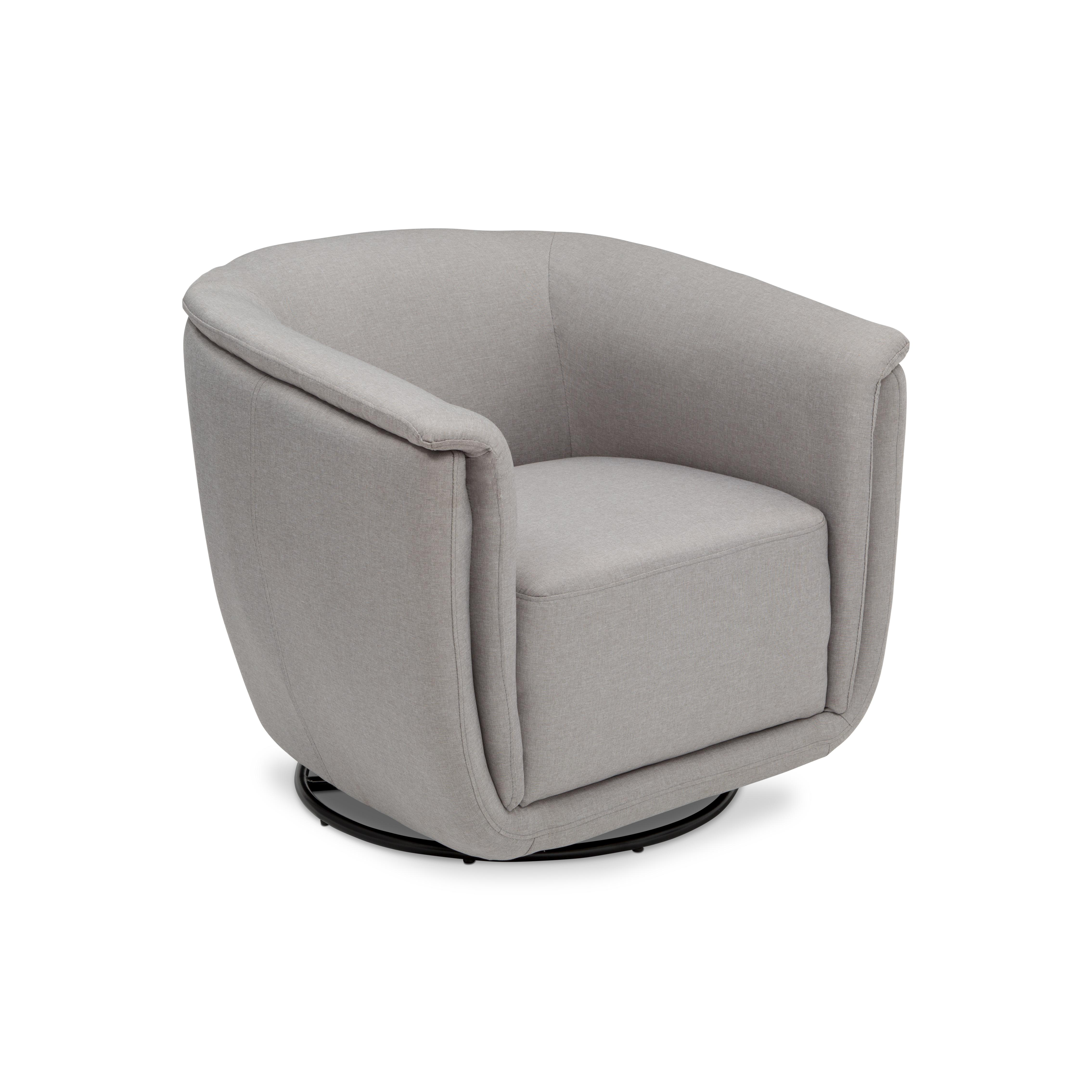 number chairs barrel best skirted chair products item home glide glider swivel nikole furnishings