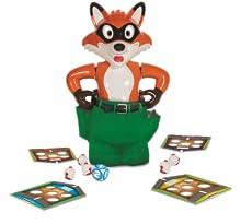 fox, catch, chickens, game, kids