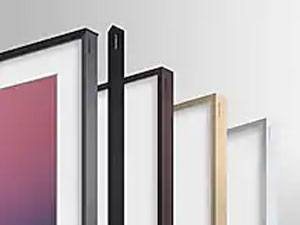 The Frame with different colored frames