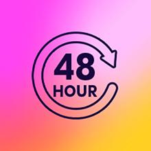 48-hour icon