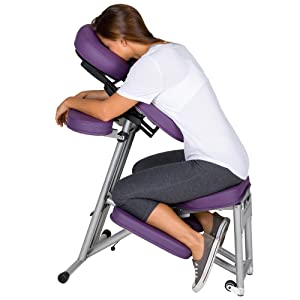 stronglite ergo pro ii portable massage chair package lightweight foldable tattoo spa massage chair with wheels