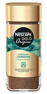 Nescafe, gold, origins, indonesian, sumatra