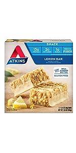 lemon bar snack protein low carb keto friendly atkins diet low sugar gluten free