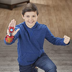 super hero; roleplay; iron man gauntlet; iron man glove; for my grandson; dress up like iron man