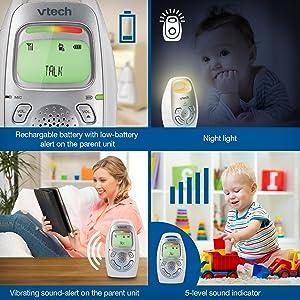 DM223 Baby Unit and Parent Unit