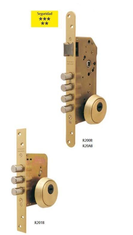 Cerraduras de seguridad R200B - R201B