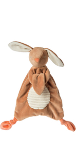 bunny lovey soft toy