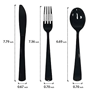 Pre Rolled Napkin and Cutlery Set