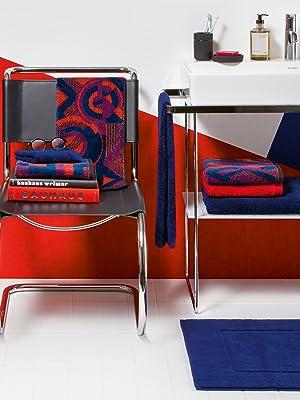 Red m/öve Modernism Serviette de Toilette 50 x 100 cm