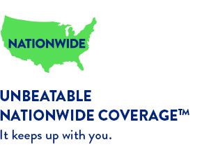 Unbeatable Nationwide coverage