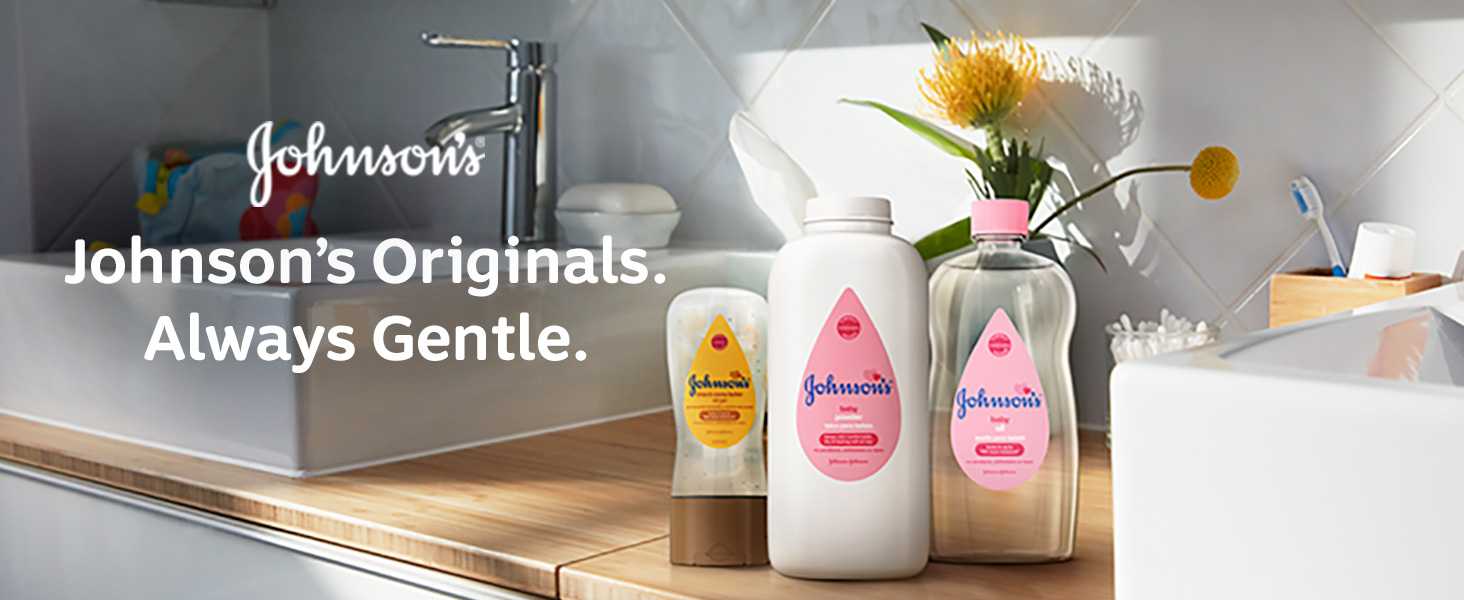 Johnson's Baby - Johnson's Originals Always Gentle.