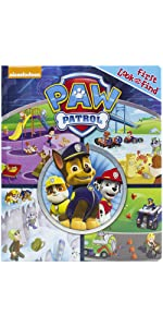 Paw Patrol - First Look and Find Activity Book