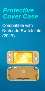 Nintendo switch Lite Clear Case