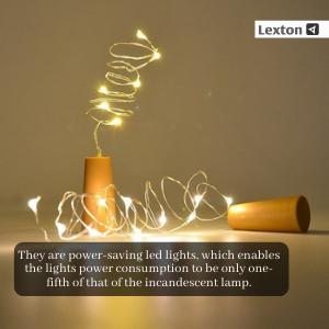 Lexton, Cork Lights, Wine Bottle lights, led Lights