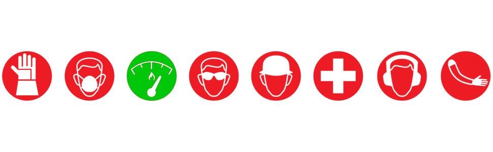 Magid, Glove, Safety, Work, Green, Red, FR, Icon