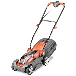 Flymo Mighti-Mo 300 Li Cordless Battery Lawnmower, 40V, Cutting Width 30cm