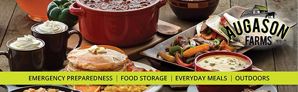 Amazon augason farms dinner pack emergency food storage kit 15 augason farms emergency preparedness food storage breakfast lunch and dinner meals box kits forumfinder Image collections