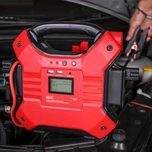 Sealey SL32S Jump Starter Power Pack Lithium Fer Phosphate 12//24V 1200//600 Pic