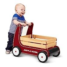 radio flyer classic walker wagon push walker