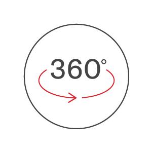 360º Movement
