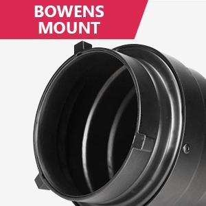 Kit de snoot c/ónico de aleaci/ón de Aluminio con Panal Light Snoot Honeycomb Grid Light Beam Tube Bowens Mount Filter para Studio Strobe Flash