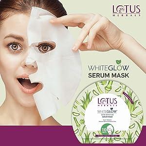 Whiteglow Satin Sheet Mask