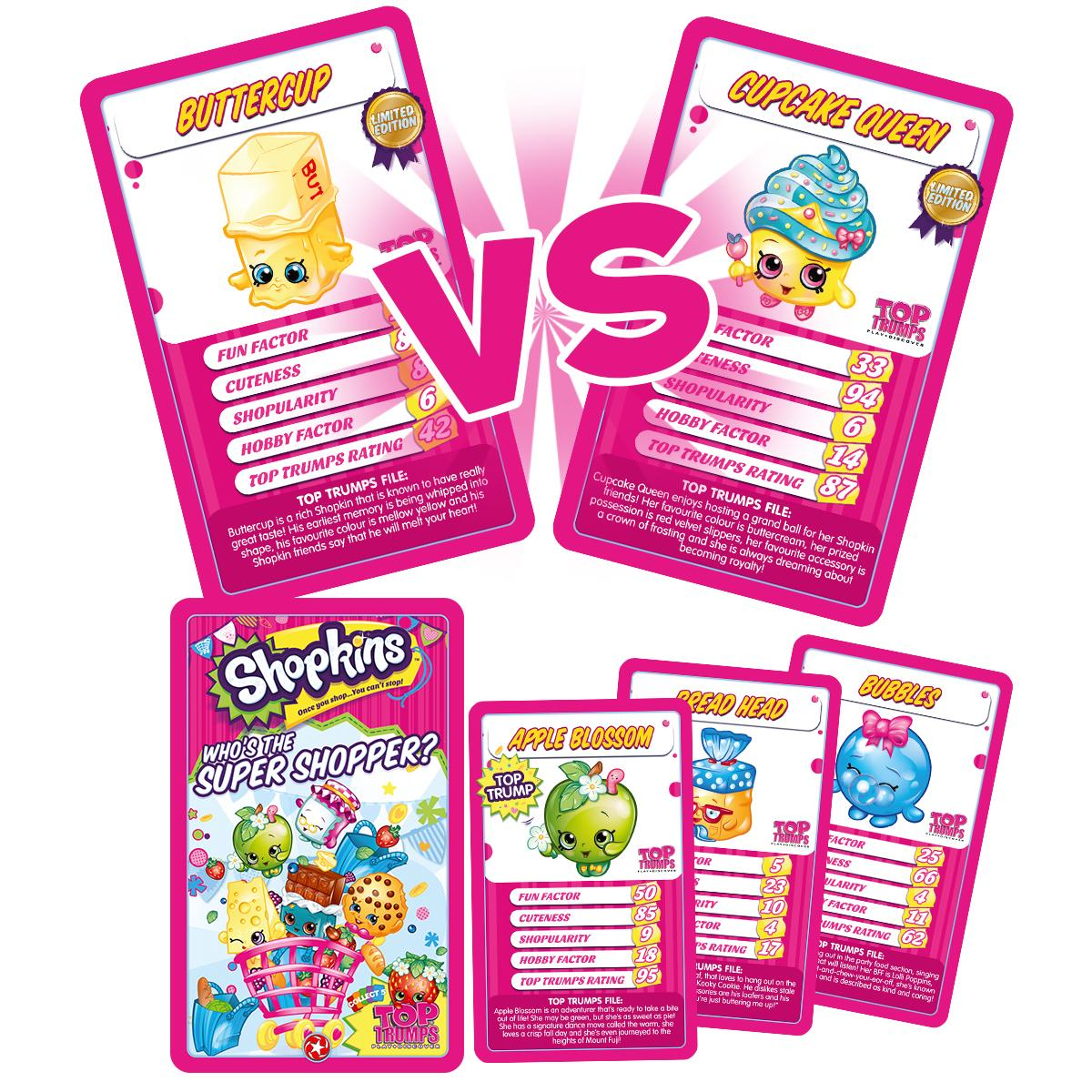 Shopkins Top Trumps Card Game: Amazon.co.uk: Toys & Games