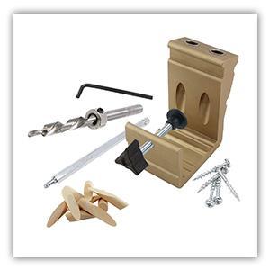 jig kit, pocket hole jig kit, woodworking, general tools