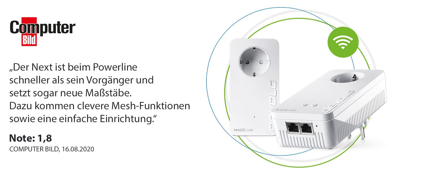 devolo Magic 2 – 2400 WiFi ac next Starter Kit: Amazon.de