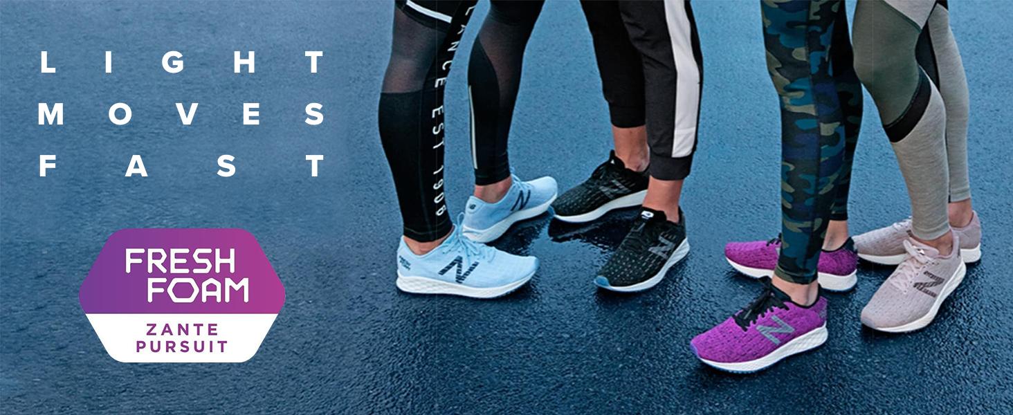 estilo popular información para venta caliente Amazon.com | New Balance Women's Zante Pursuit V1 Fresh Foam ...