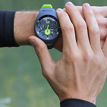 Chronograph Armbanduhr Watch Quarz Armband Smart 014945 Ice Silikon Mit Herren PnwZ80XONk