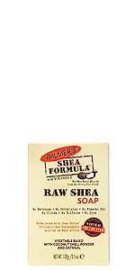 Raw Shea Bar Soap Body Wash