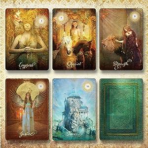 good tarot card deck colette baron-reid powerful motivational divination elements interpretation